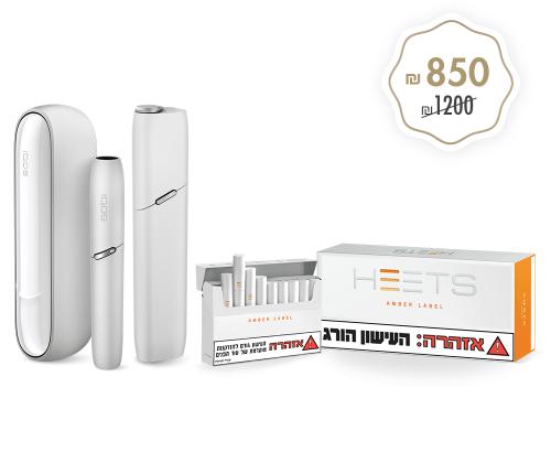 IQOS 3 + Multi WHITE+ HEETS