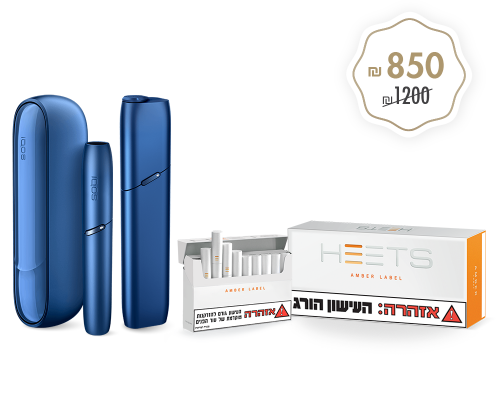 IQOS 3 + Multi BLUE + HEETS
